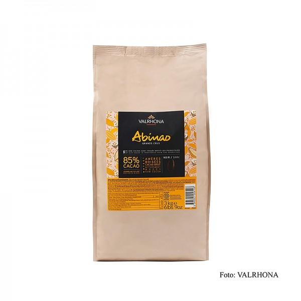 Valrhona - Abinao Grand Cru dunkle Couverture Callets 85% Kakao Afrika