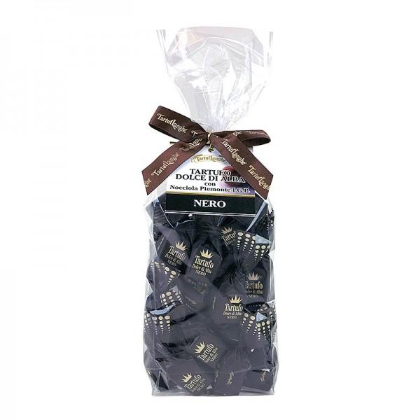 Tartuflanghe - Trüffelpralinen - Dolce d´Alba dunkle Schokolade ca. 14g schwarz