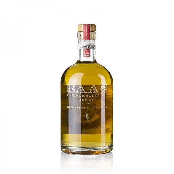 Uerige Baas - Single Malt Whisky Uerige Baas 3 Jahre American Oak 42.5% vol. Düsseldorf