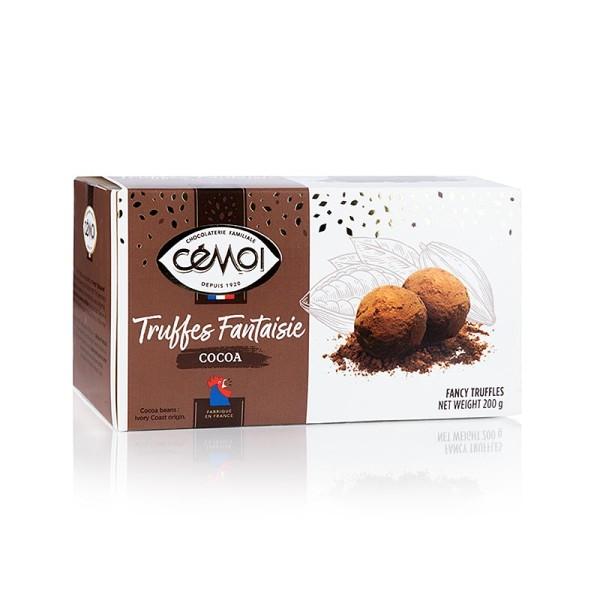 Cemoi Truffes - Trüffel Konfekt - Pralinen (Truffes) Cémoi Frankreich