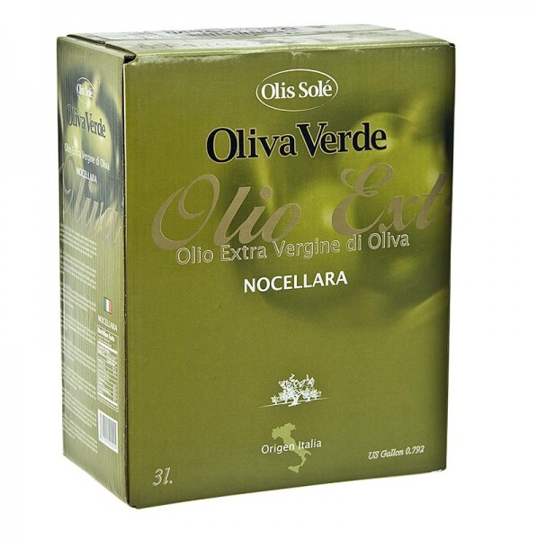 Olis Sole - Natives Olivenöl Extra Oliva Verde aus Nocellara Oliven