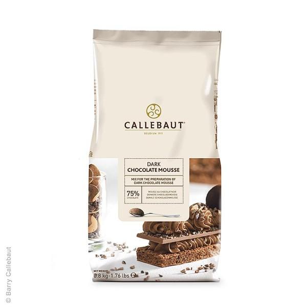 Callebaut - Mousse au Chocolat - Pulver dunkel