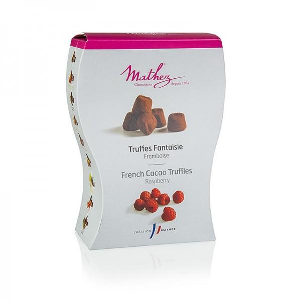 Mathez - Trüffelkonfekt - Pralinen Mathez mit Himbeere