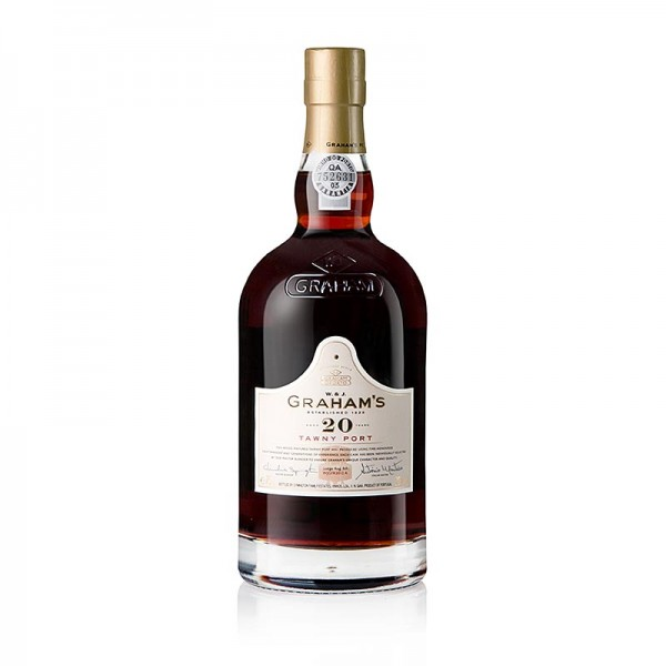 Graham's - Graham´s - 20 Years old Tawny Port Portwein 20% vol. Präsentverpackung