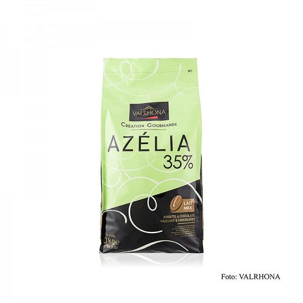 Valrhona - Azélia Haselnuss Couverture 35% Callets