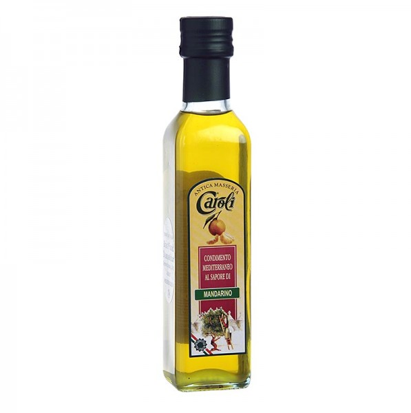 Caroli - Natives Olivenöl Extra Caroli mit Mandarine aromatisiert