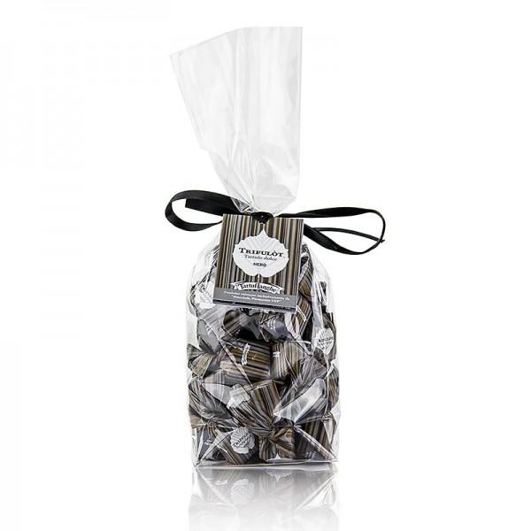 Tartuflanghe - Mini Trüffelpralinen - Dolce d´Alba dunkle Schokolade ca. 7g schwarz