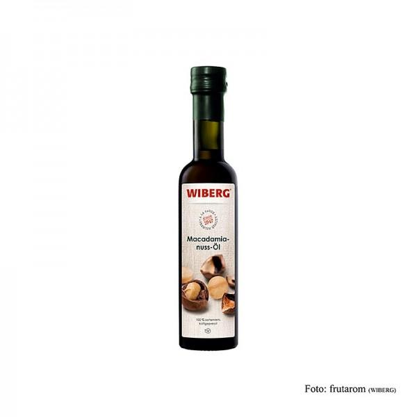 Wiberg - Wiberg Macadamianussöl kaltgepresst 100% rein mild nussig