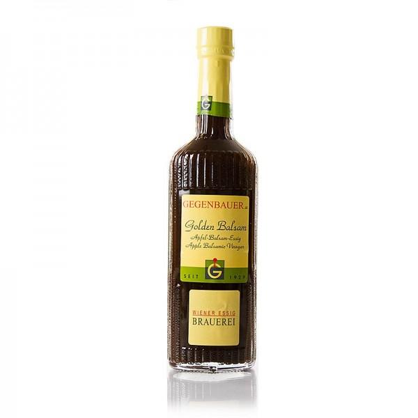 Gegenbauer Essige - Balsam-Essig Golden Balsam Apfelessig 6 Jahre 5% Säure