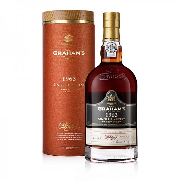 Graham's - Graham´s - 1963er Single Harvest Tawny Port süß 20% vol.