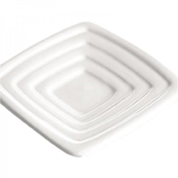Flos Salis - Olivenöldippschälchen quadratisch,passt zu Flos Salis® Tisch-Salz-Gefäß 19865