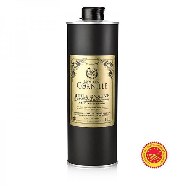 Baux de Provence - Olivenöl Vierge AOC Fruité Noir mild-süßlich Baux de Provence Cornille