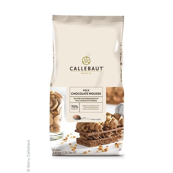 Callebaut - Mousse au Chocolat - Pulver Vollmilch