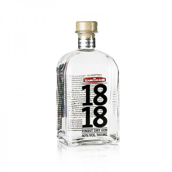 Schmittmann - Schmittmann´s Finest Dry Gin 1818 40% vol. Düsseldorf