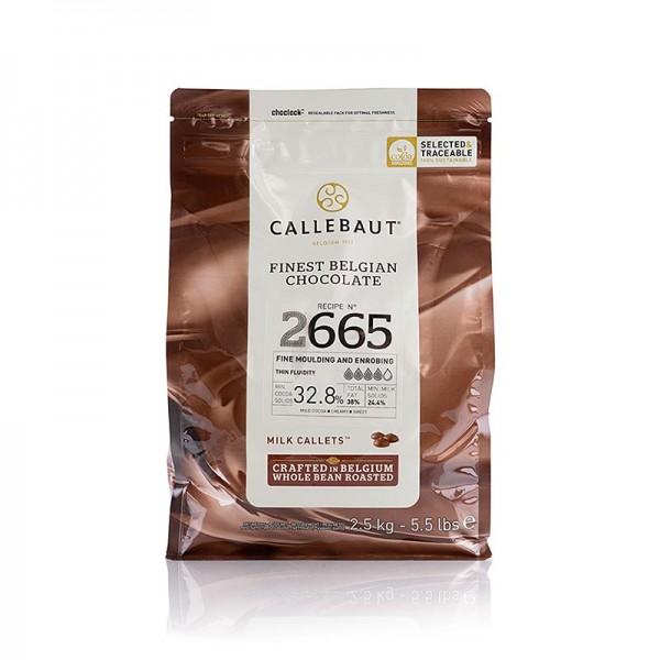Callebaut - Vollmilch dünnfließend Callets 32% Kakao