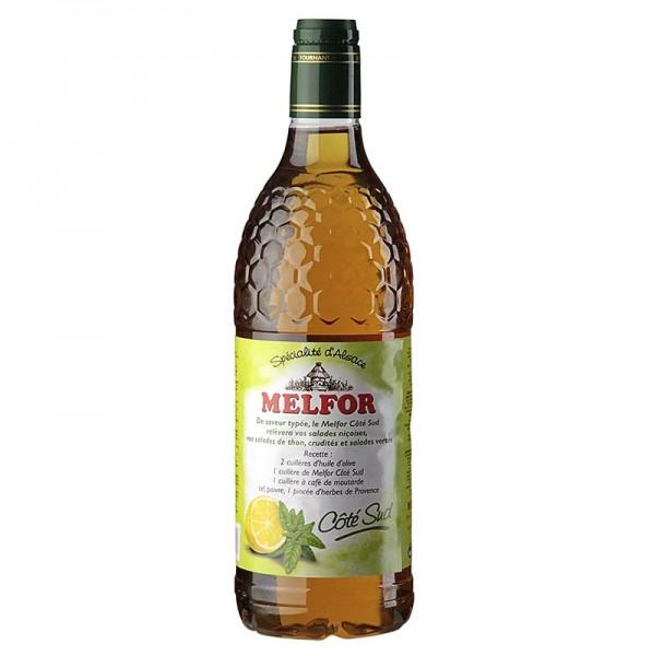 Melfor - Essig-Condiment mit Honig Kräutern Basilikum & Zitrone 3.8% Säure Melfor
