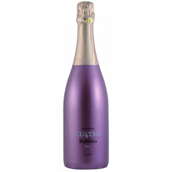 Clos Montblanc - Proyecto Cu4tro Bubbles Cava Rosé Brut 750 ml
