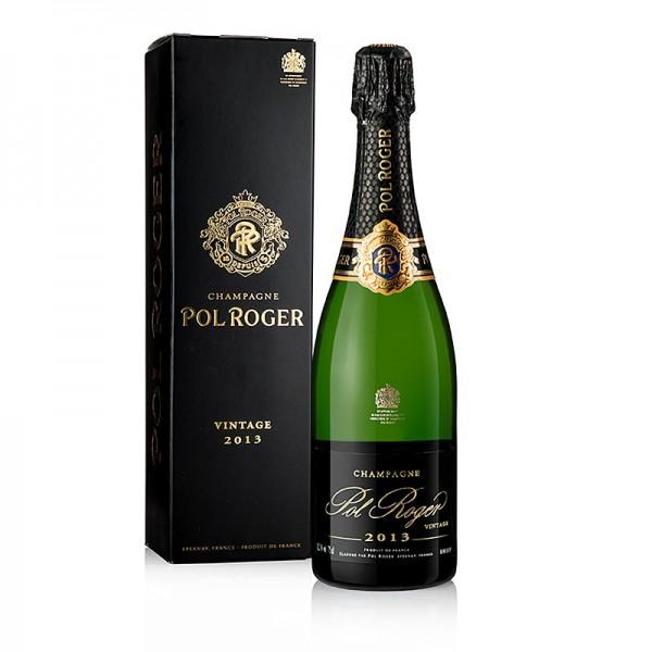 Pol Roger - Champagner Pol Roger 2013er Vintage brut 12.5% vol. 94 PP