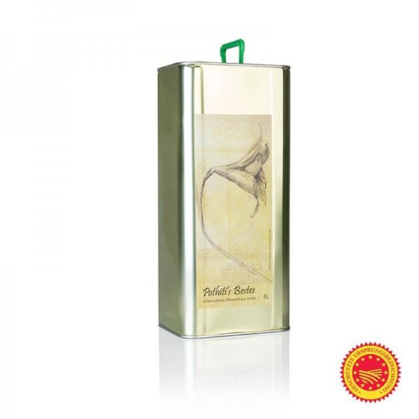 Pothiti - Natives Olivenöl Extra Pothiti´s Bestes Koroneiki/Psilolia Oliven Kreta g.U.