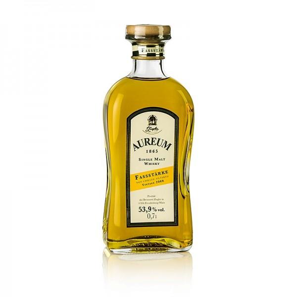 Ziegler Edelbrand - Aureum 1865 Single Malt Whisky 5 Jahre Fassstärke 53.9% vol. Ziegler