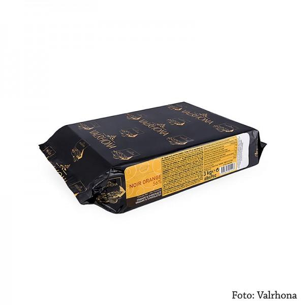 Valrhona - Noir Orange - Zartbitter mit Orangennote Block 53% Kakao
