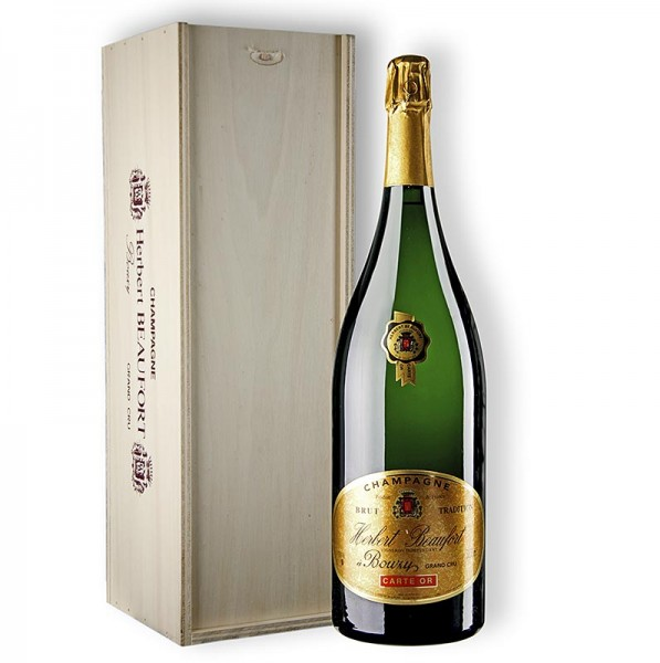 Herbert Beaufort - Champagner H.Beaufort Carte d´Or Grand Cru brut 12% vol. Doppelmagnum