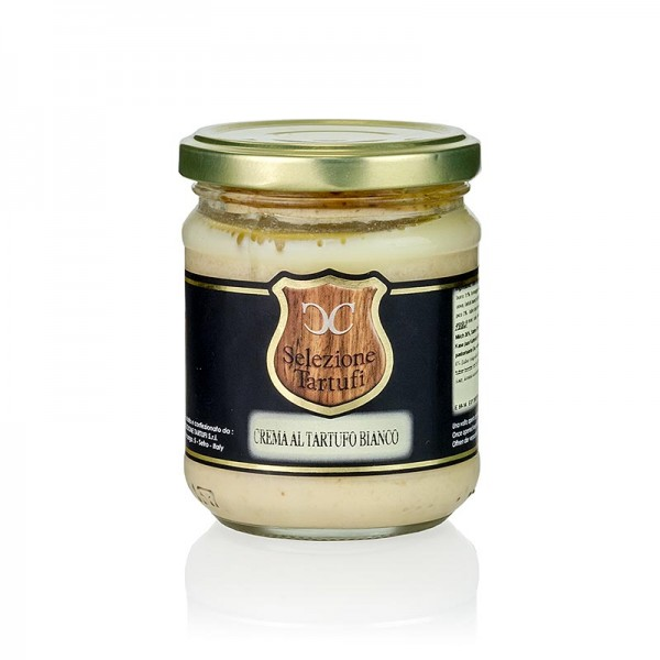 Selezione Tartufi - Trüffel-Creme mit weißem Trüffel (tuber magnatum pico) Crema al Tartufo Bianco