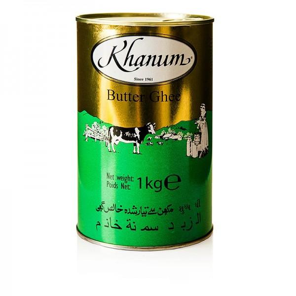 Khanum - Butter Ghee - geklärte Butter 99.8% Fett