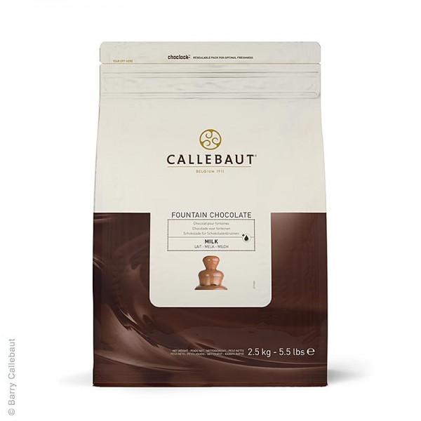 Callebaut - Vollmilch für Brunnen & Fondue Callets 37.8% Kakao