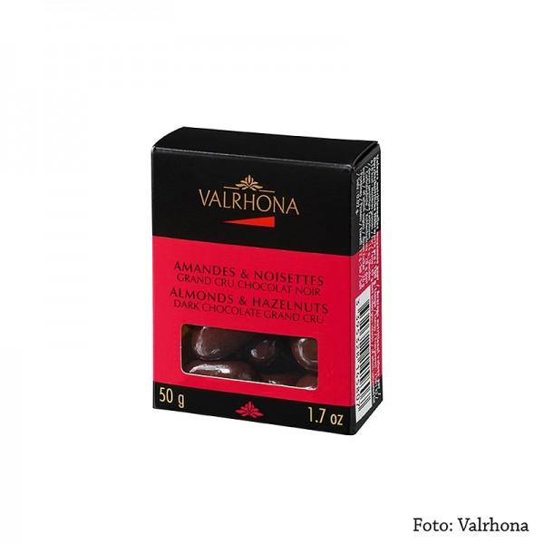 Valrhona - Valrhona Equinoxe Kugeln - Mandeln/Haselnüsse in Bitterschokolade