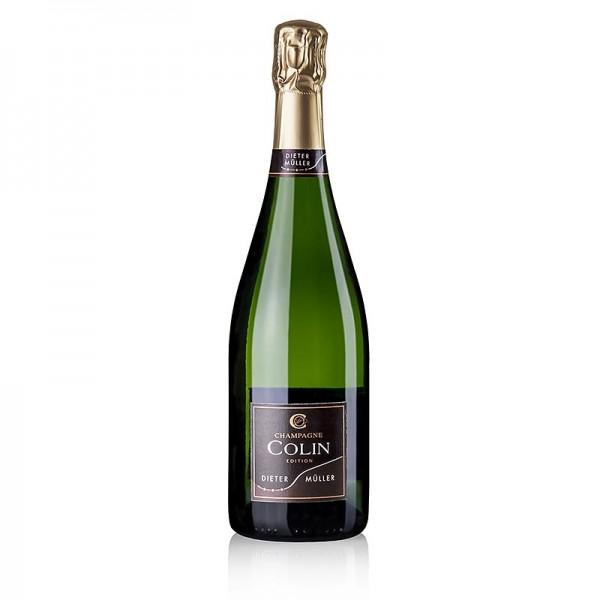 Colin - Champagner Colin Blanc de Blancs 1.Cru Extra Brut Edition Dieter Müller 12%
