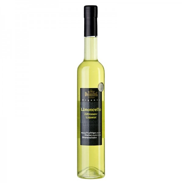 Dwersteg Organic - Dwersteg Organic Limoncello Zitronen-Likör 33% vol. BIO