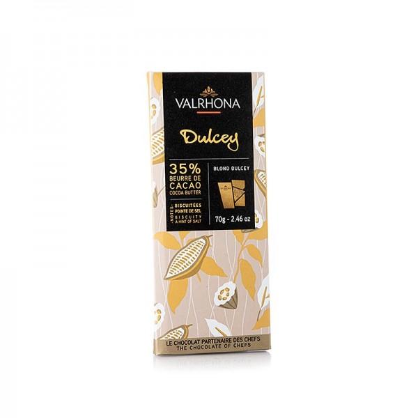 Valrhona - Dulcey - Blonde Schokolade 32% Kakao
