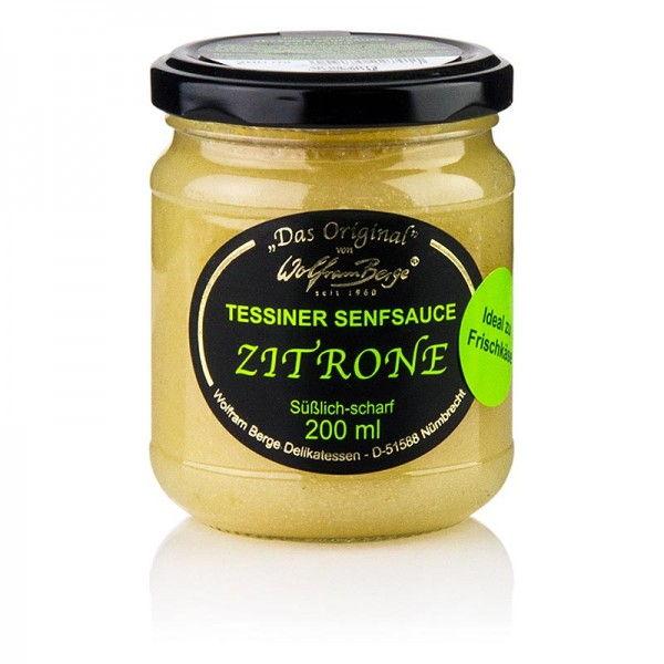 Original Tessiner - Original Tessiner Zitronen-Senf-Sauce