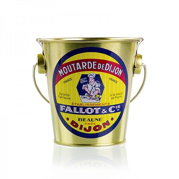 Fallot - Dijon Senf fein scharf Glas im Eimer Fallot