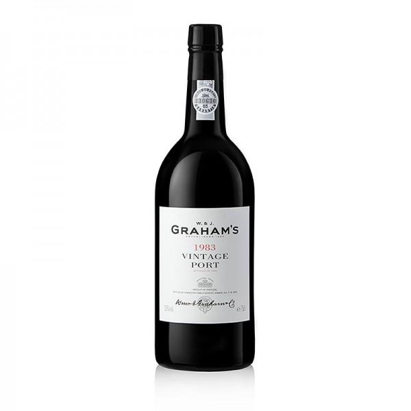 Graham's - Graham´s - 1983er Vintage Portwein süß 20% vol. 93 Wine Spectator Pkt.