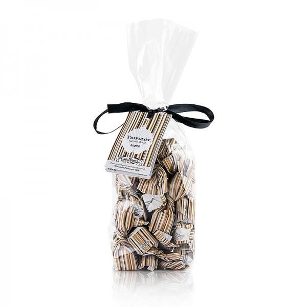 Tartuflanghe - Mini Trüffelpralinen - Dolce d´Alba weiße Schokolade ca. 7g weiß
