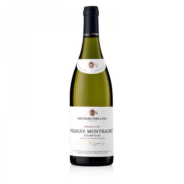 Bouchard - 2018er Puligny-Montrachet 1.Cru Champ Gain trocken 14% vol. Bouchard