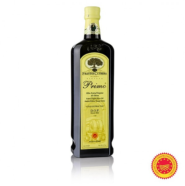 Frantoi Cutrera Primo DOP Olivenöl Ex.V. 100% Tonda Iblea Feinschmecker ´10 750 ml