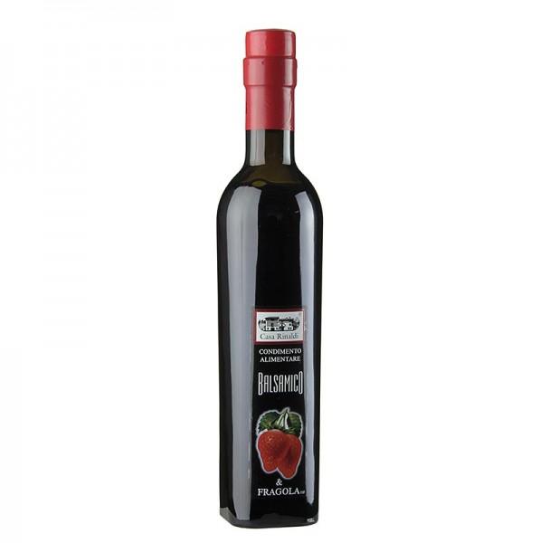 Casa Rinaldi - Aceto Balsamico Würze mit Erdbeeren 6% Säure Casa Rinaldi