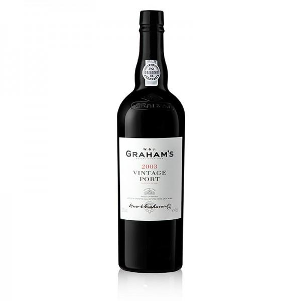 Graham's - Graham´s - 2003er Vintage Portwein süß 20% vol. 95 Parker
