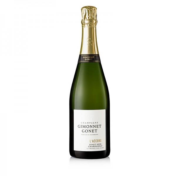 Gimonnet Gonet - Champagner Gimonnet Gonet l´Accord brut 12% vol.