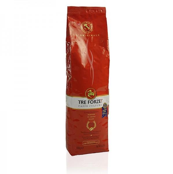 TRE FORZE! - Espresso - TRE FORZE! aus Sizilien ganze Bohnen über Olivenholzfeuer geröstet