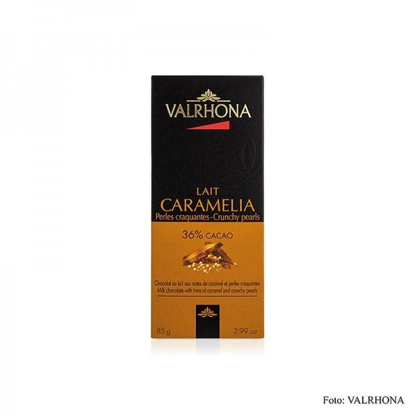 Valrhona - Caramelia - Vollmilchschokolade mit Puffweizen 36% Kakao