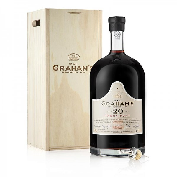 Graham's - Graham´s - 20 Years old Tawny Port Portwein 20% vol. 4.5l Jeroboam