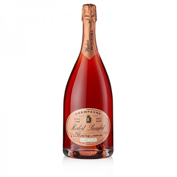Herbert Beaufort - Champagner H.Beaufort Rosé Grand Cru brut 12% vol. Magnum