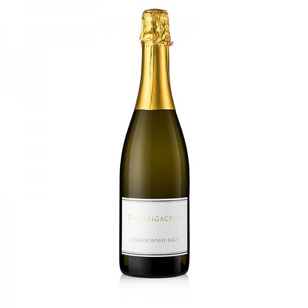 Dreissigacker - 2018er Chardonnay Sekt brut Flaschengärung 12% vol. Dreissigacker