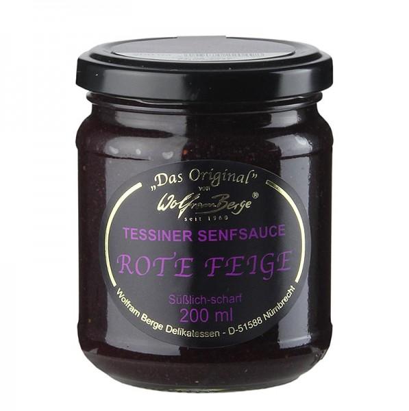 Original Tessiner - Original Tessiner Rote-Feigen-Senf-Sauce
