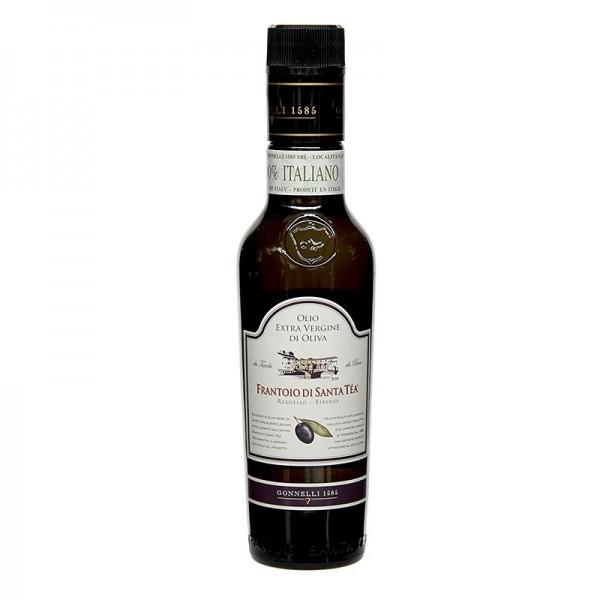 Santa Tea - Delicato Olivenöl Extra Vergine schwarze Oliven Santa Tea Gonnelli