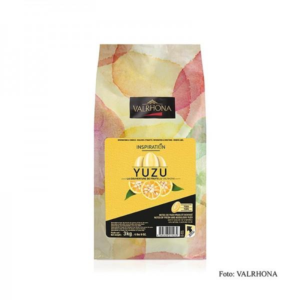 Valrhona - Valrhona Inspiration Yuzu Yuzuspezialität mit Kakaobutter